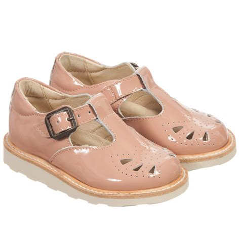 girls sandals c young soles girls pink patent leather rosie t bar
