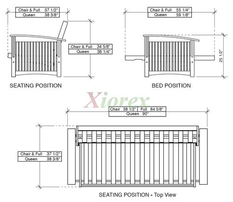 dimensions of a futon wood futon frame night and day winter futon xiorex
