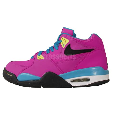 youth nike basketball shoes nike air flight 89 gs pink blue black youth womens
