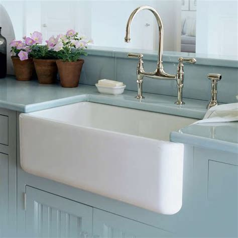 Farmhouse Porcelain Kitchen Sink Fireclay Kitchen Sinks Fireclay Single Bowl Fireclay Bowl
