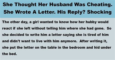 Wants To Write A Tell All by Tries To Trick Husband With A Letter To See If