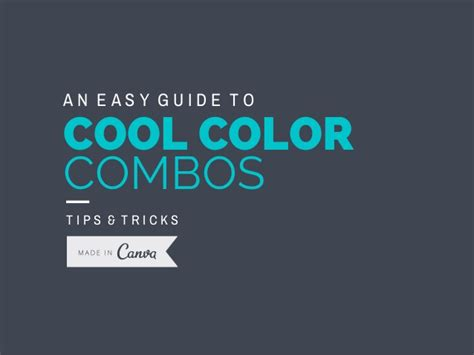cool color combos an easy guide to cool color combos