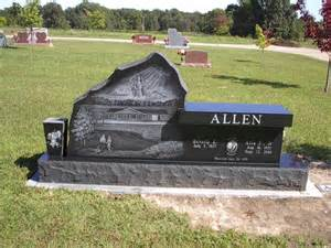 Bench Headstones For Graves Bench Memorials Atchison Monuments Amp Granite