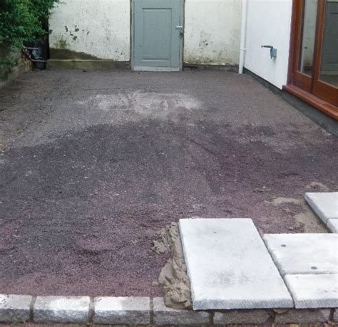 How To Lay Gravel Patio by Bowland Bowland How To Lay A Patio