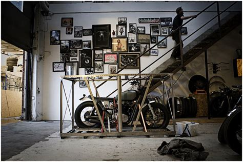 Garage Necessities by Dd Motorcycles Motorcycle Garage