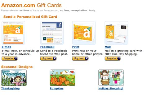 Sending Amazon Gift Card - you can now send amazon gift cards via facebook