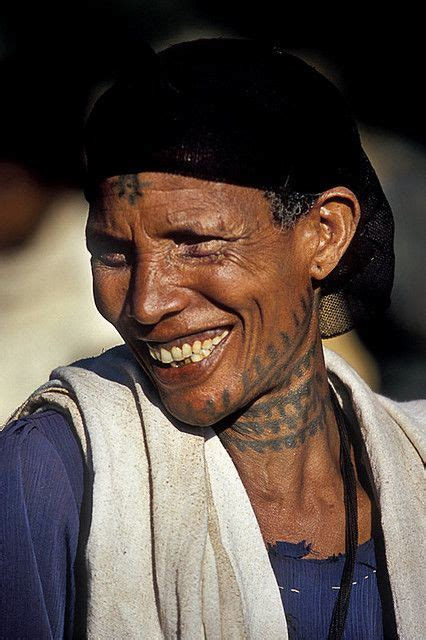 ethiopian tattoos smile and photography