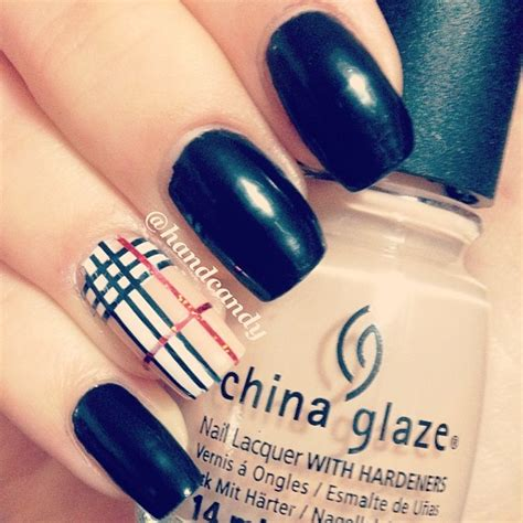 burberry pattern nails 126 best images about nails on pinterest