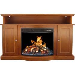 wood tv stand with fireplace for tvs up to 60 quot