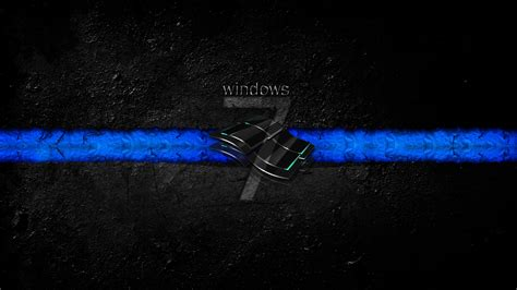 thin blue line wallpaper hd