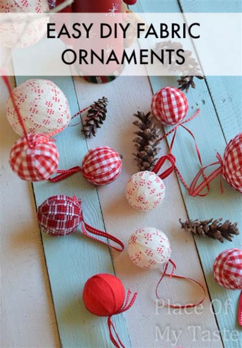 fabric crafts quick brilliant decor you can make in minutes diy