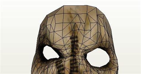 Gas Mask Papercraft - scarecrow gas mask papercraft papercraft paradise