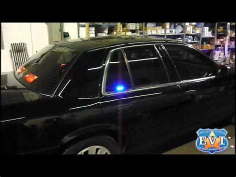 crown vic emergency lights undercover 2010 ford crown vic evi built