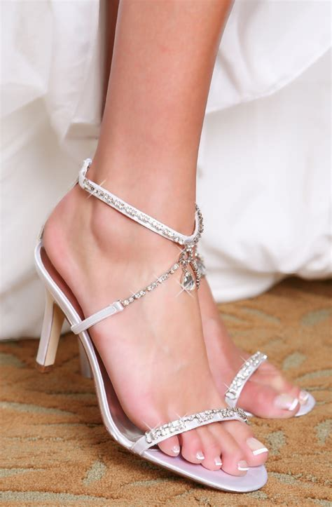 Picture Of Chic Summer Wedding Shoes Ideas