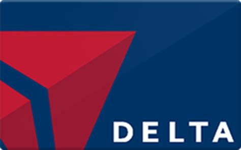 Delta Airline Gift Cards - delta airlines gift card discounts comparison chart