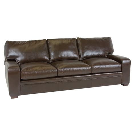 Classic Leather Sofa Classic Leather 4513 Leather Sofa Vancouver Sofa Discount Furniture At Hickory Park Furniture
