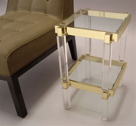 best lucite coffee table design : Decorative Lucite Table