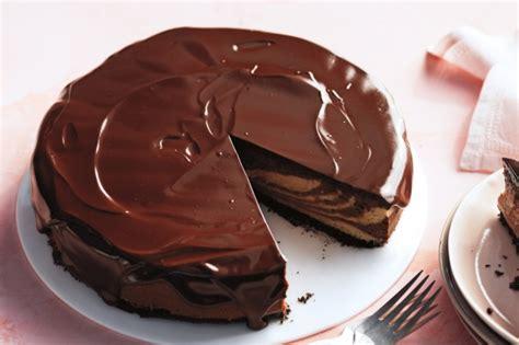Chocolate Glaze martha s chocolate peanut butter cheesecake with chocolate glaze recipe taste au