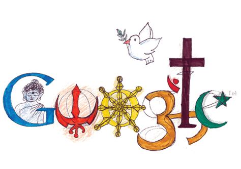 doodle for india unity in diversity quot indian culture quot