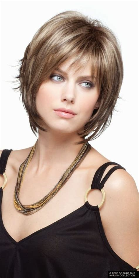 hairstyles for double chin and round face 12 short hairstyles for round faces with double chin new