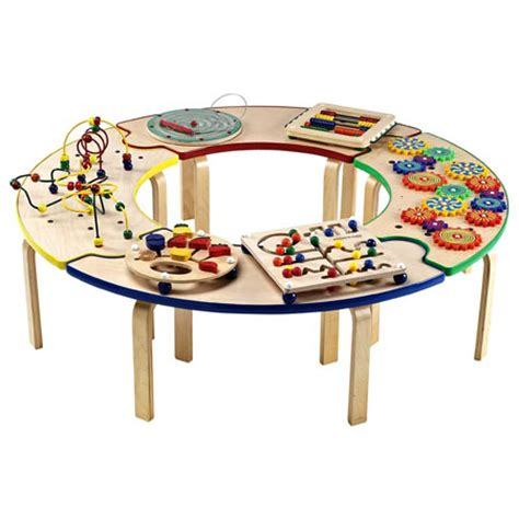 Tables For Toddlers by Circle Of Activity Table Is A Center Of For