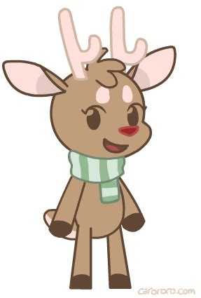 gif christmas reindeer animation rudolph flash i drew dis