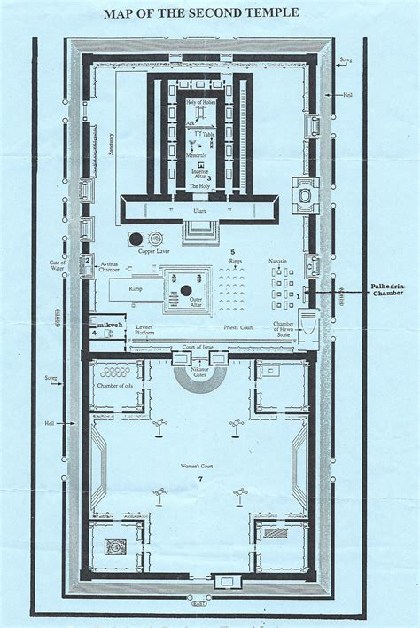 temple floor plan building the third temple the mitzvah project