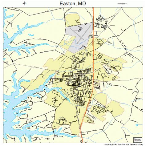 easton maryland map easton md pictures posters news and on your