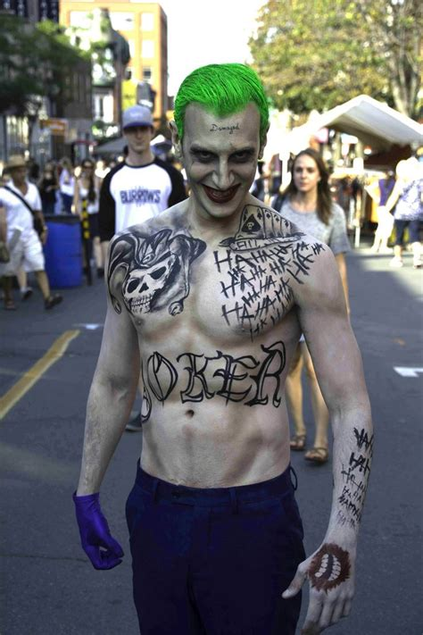 joker tattoo controversy suicide squad joker cosplay tattoos pinterest