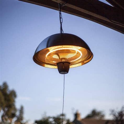 La Hacienda Hanging 2100w Halogen Patio Heater Medium Hanging Halogen Patio Heater