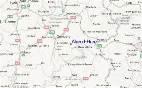 Alpe d'Huez Skigebied Gids, Lokaliteitkaart en Alpe d'Huez Skivakantie aanbiedingen