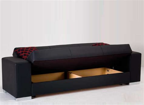 sleeper sofa with storage kobe black sofa bed with storage sofa beds