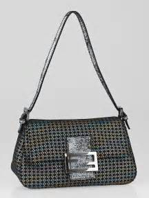 Fendi Mini Mamma Purse by Fendi Multicolor Canvas Mini Baguette Bag Yoogi S
