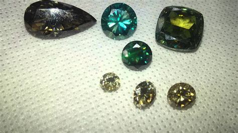 moissanite colors colored moissanite