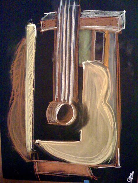 picasso paintings with guitar picasso guitar drawing picasso artwork and lesson ideas