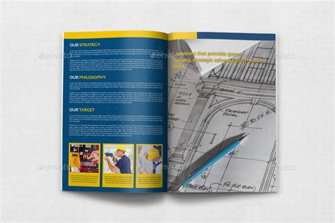 construction brochure template construction brochure template vol 3 by owpictures