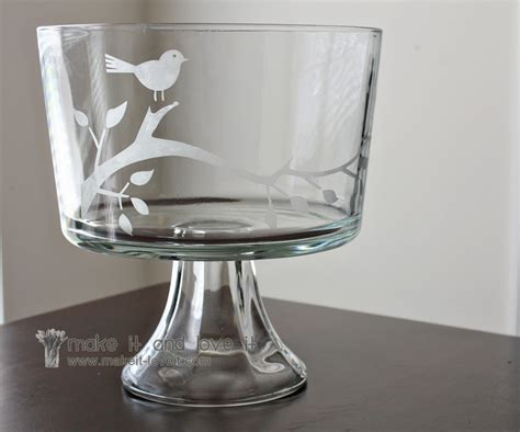 glass etching make it and love it