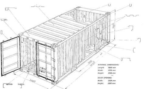 dimensioni interne container 20 piedi container 20 box nuovi usati vendita produzione noleggio
