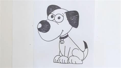 draw cartoon dog youtube