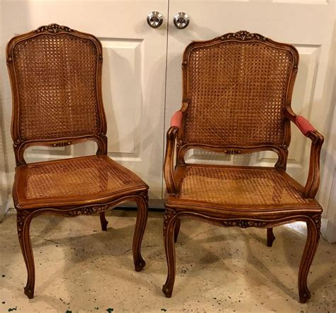 louis xv style country french dining chairs