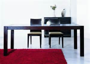 Color Dining Table Extendable Contemporary Dining Table In Wenge Color Boise Idaho Bha2