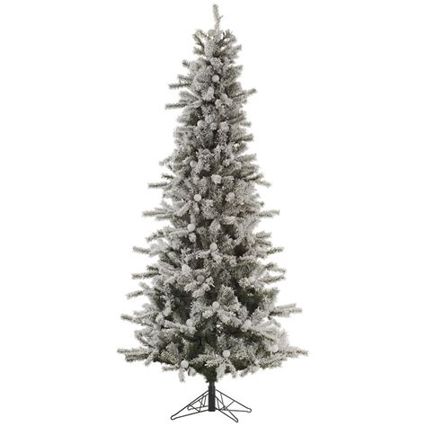 vickerman 32344 12 x 56 quot flocked slim london fir