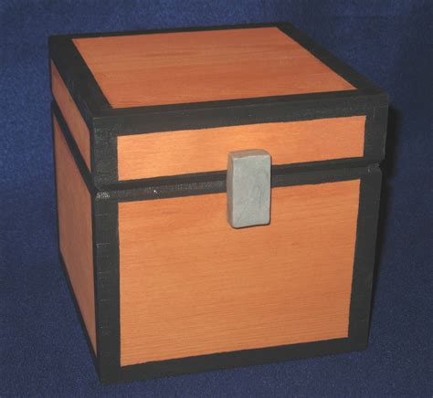 minecraft box minecraft inspired chest working wooden prop and storage