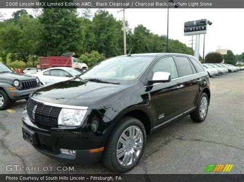 2008 lincoln mkx limited edition black clearcoat 2008 lincoln mkx limited edition awd