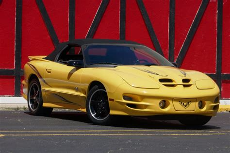 2002 pontiac trans am convertible for sale 2002 pontiac trans am ws6 collector edition 6 speed