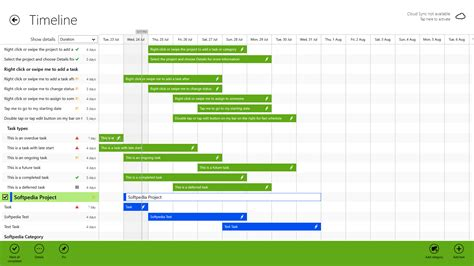 project timelines project timeline for windows 1 8 1 2 2 0 48