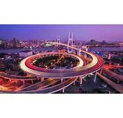 Nanpu Bridge Huangpu River Shanghai Wallpapers  HD