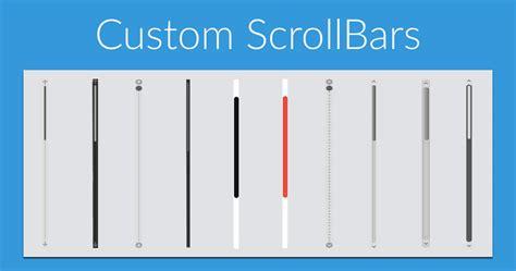 Scrollbar Ui Pattern | custom scrollbar in your website alexander georgiev
