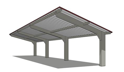 Shed Style Roof by Steelworx Cantilevered Monoslopes Amp Dugouts Coverworx