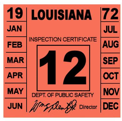 Inspection Sticker Maine Requirements